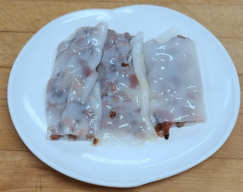 20. B.B.Q. Pork Rice Noodle Roll (Item B...3 pieces) (Not Available After 4:00 P.M.) Image