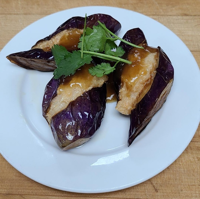 33. Stuffed Eggplant (Item B...3 pieces) Image