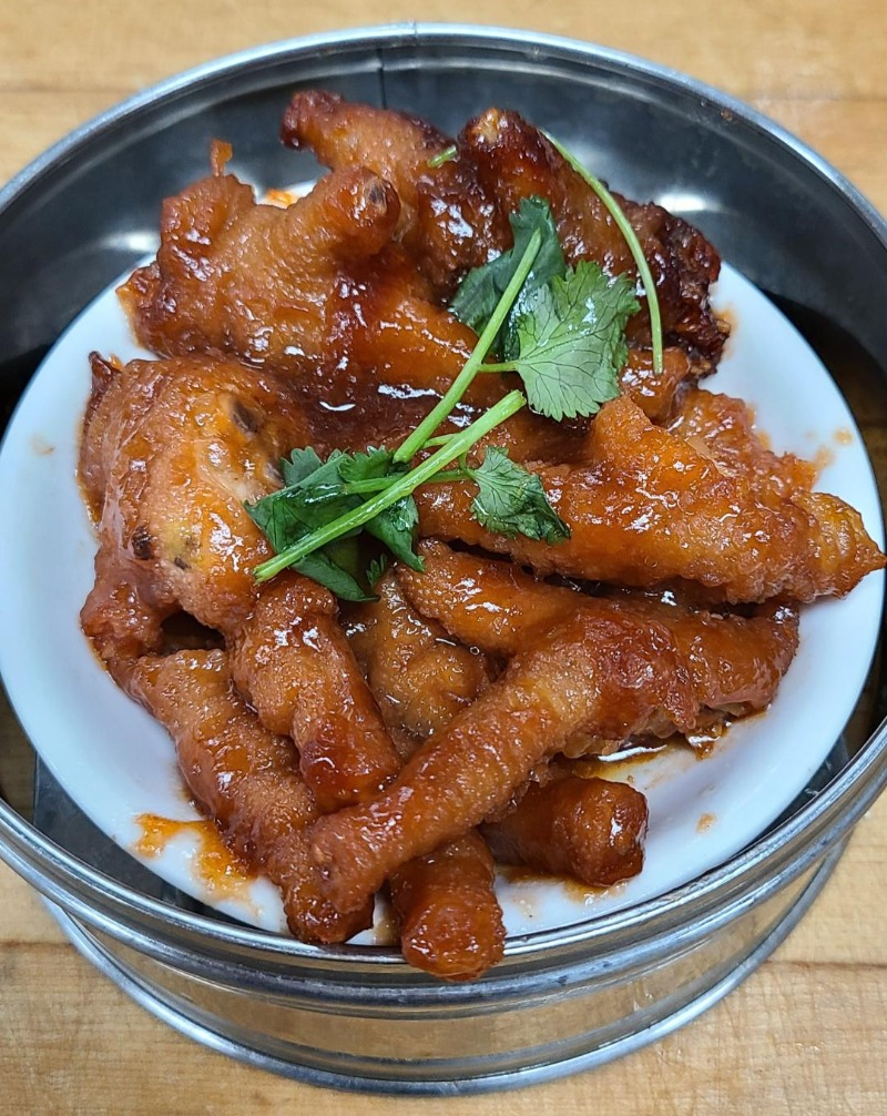 9. Chicken Feet w/ Chili Black Bean Sauce Image