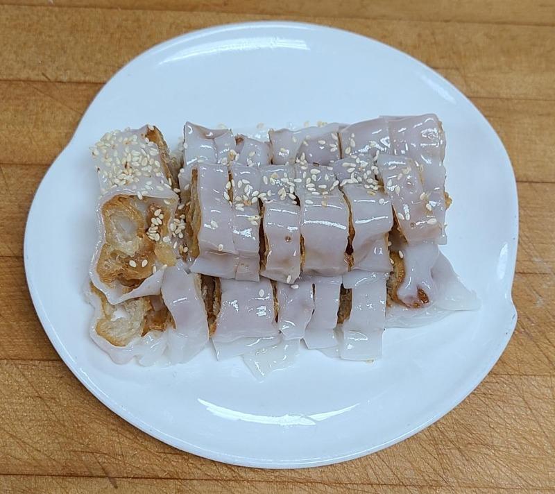 21. Crispy Dough Rice Noodle Roll (Item C...3 pieces) (Not Available After 4:00 P.M.)) Image