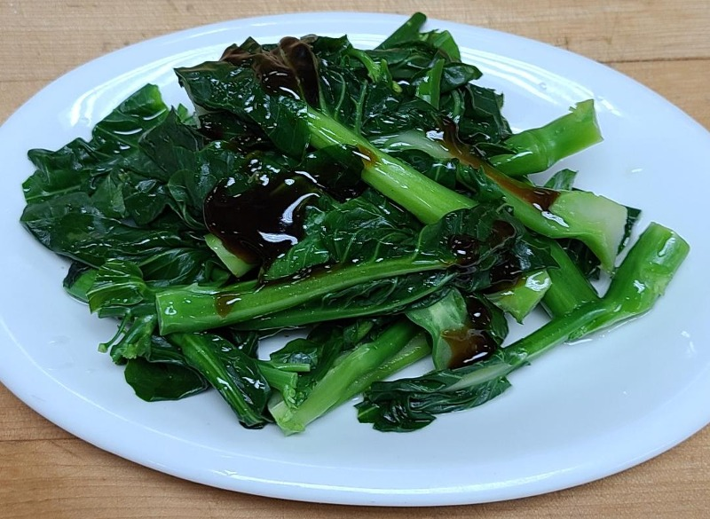 40. Chinese Broccoli with Oyster Sauce Image