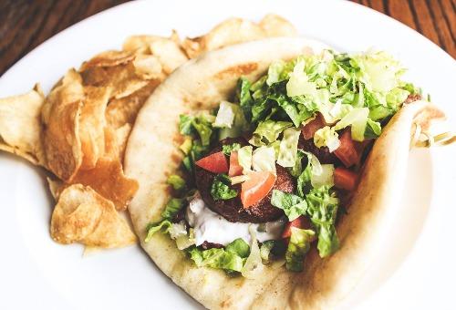 Falafel Pita Image