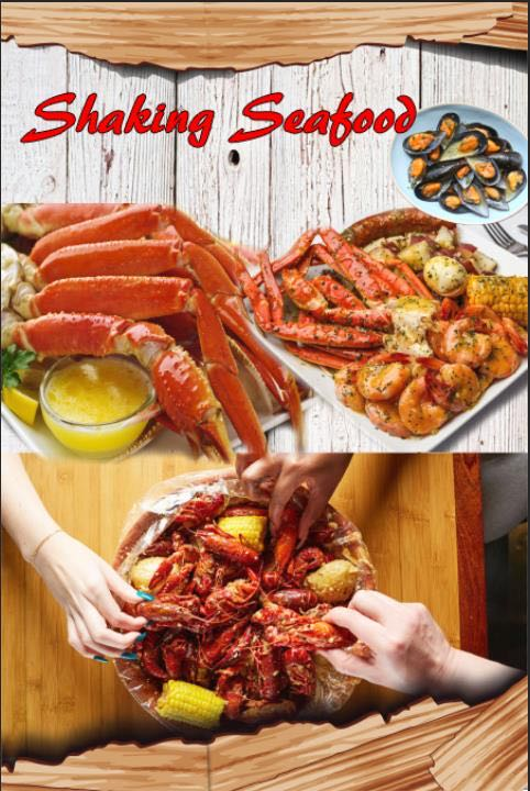 shaking seafood