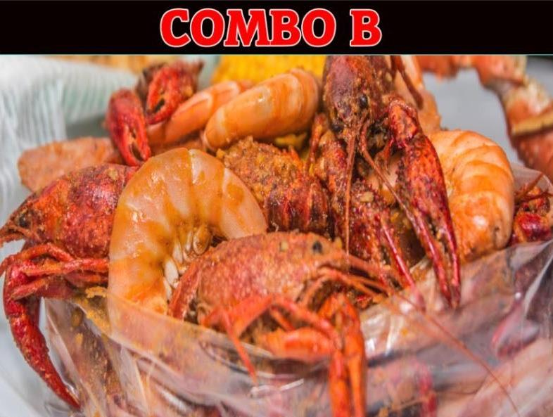 Combo B: Shrimps w. Crawfish