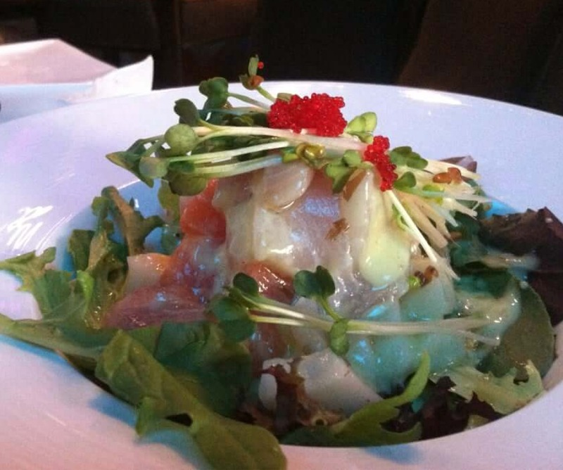 6. Sashimi Salad Image
