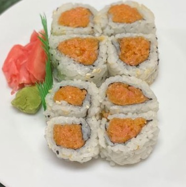 25. Spicy Salmon Roll Image
