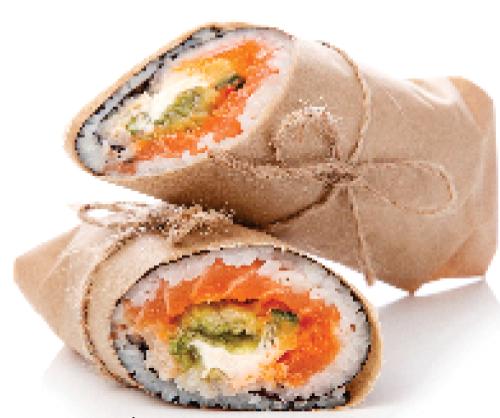 Sushi Burrito Image