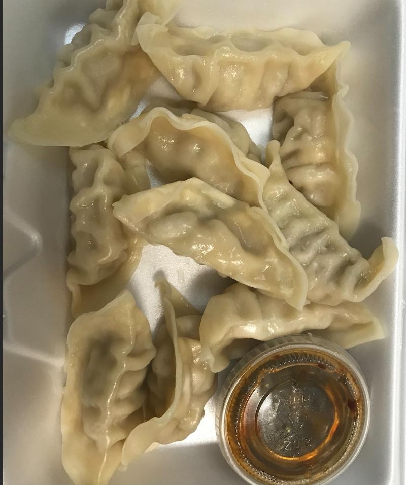 A6. Steamed Dumplings (10) 水饺 Image