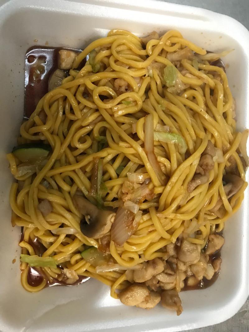 LM2. Chicken Lo Mein 鸡捞面