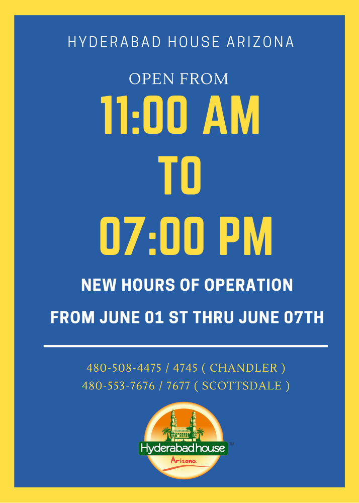 Hours for June 1st Week