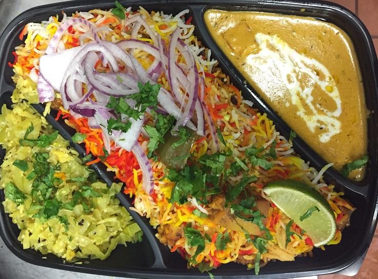 Lite Veg Lunch Box Image