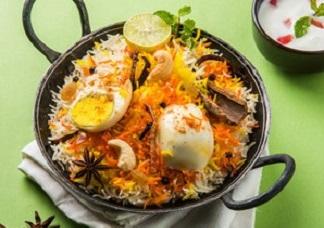 Egg Biryani Image