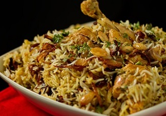 Chicken Fry Biryani (Bone-IN) Image