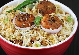 Shrimp Fry Biryani Image