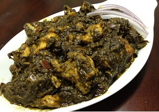 Gongura Chicken Image