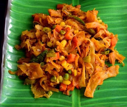 Veg Kothu Paratha Image