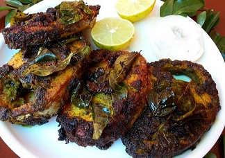Curry Leaf Fish Image