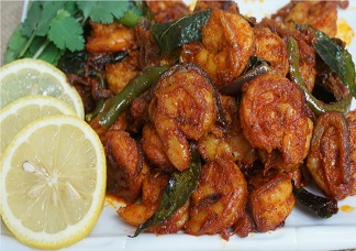 Shrimp Manchurian