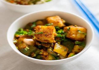 Curry Leaf Paneer Image