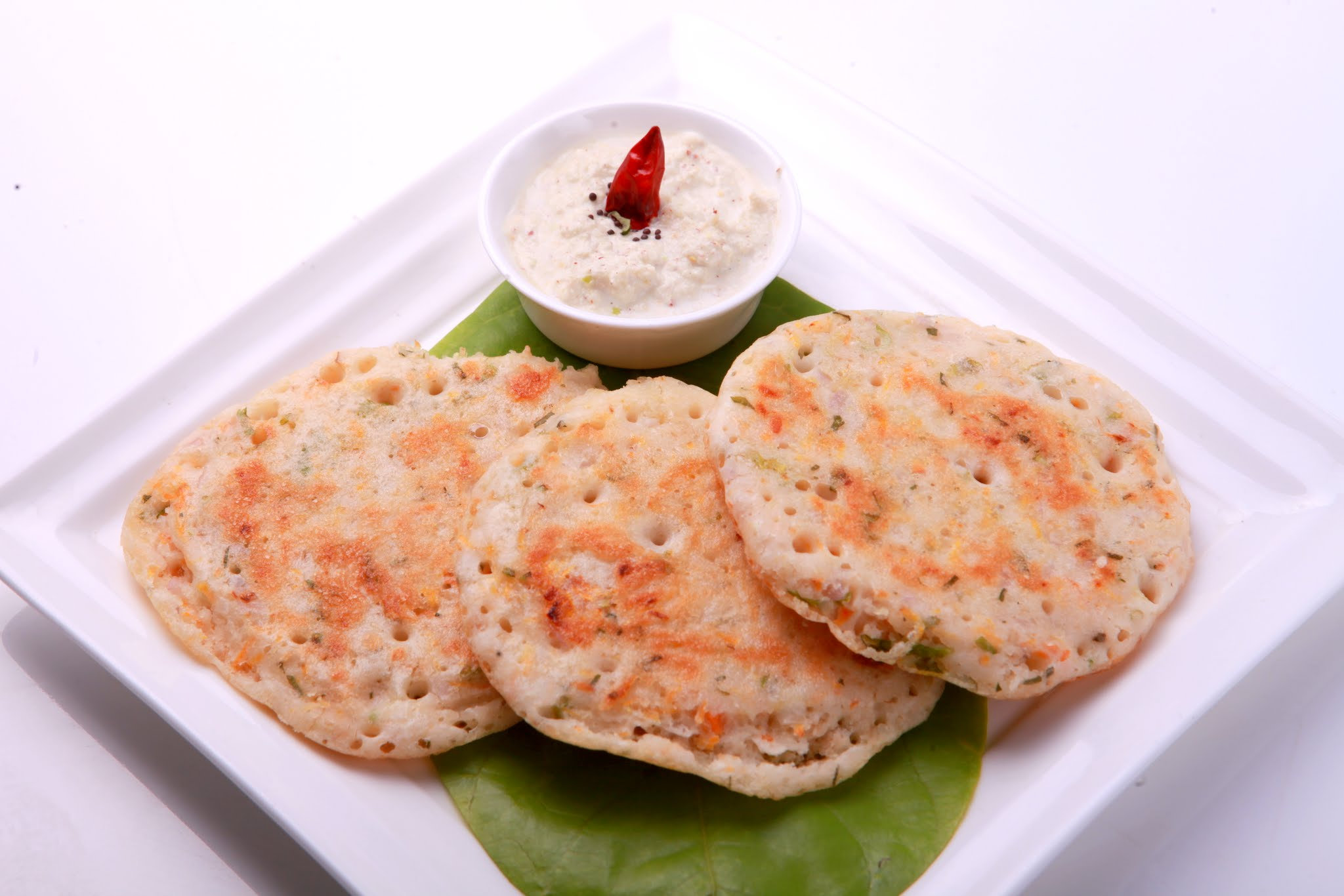 Mini Uthappam (2 pieces) Image