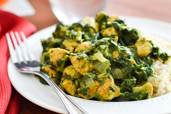 Chicken Saag Image
