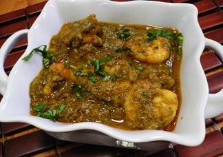 Gongura Shrimp Image