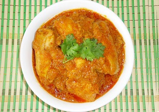 Andhra Chicken Curry (Bone in homestyle curry) Image