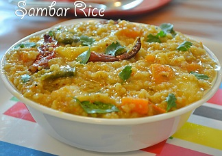 Sambar Rice Image