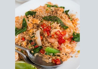 Schezuan Shrimp Fried Rice