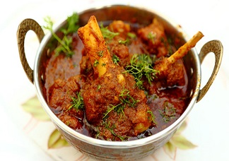 Madras Mutton Curry (Chef
