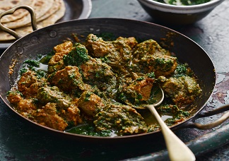 Saag Chicken Image