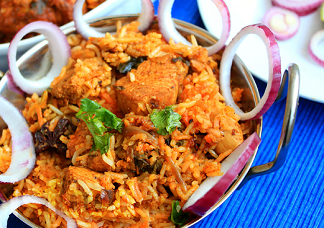 Vijayawada Spl Chicken Biryani(Boneless)