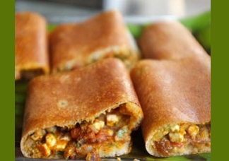 Chilli Paneer Cut Dosa