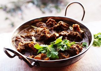 Kadai Goat Curry