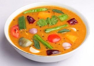 Sambar Lentil Soup