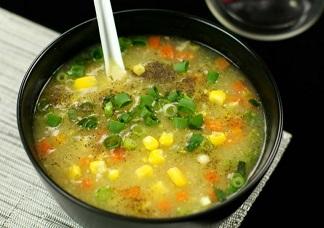 Veg Corn Soup Image