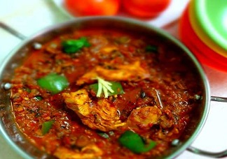 Kadai Chicken Curry