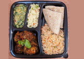 Non-Vegetarian Lunch Box (Chicken) Image