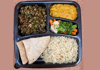 Vegetarian Lunch Box Image