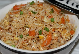 Schezwan Egg Fried Rice