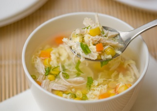 Chicken Corn Soup Image