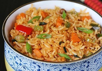 Schezwan Veg Fried Rice Image