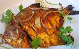 Whole POMFRET Fish