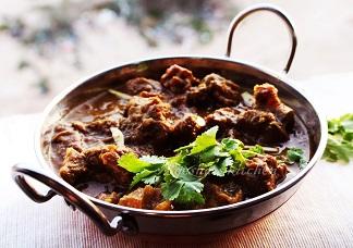 Kadai Goat Curry Image