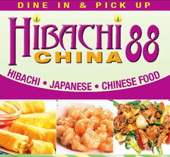 Hibachi China 88 - Garner