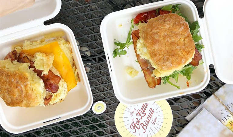 Build Your Own Buttermilk Biscuit Sandwich