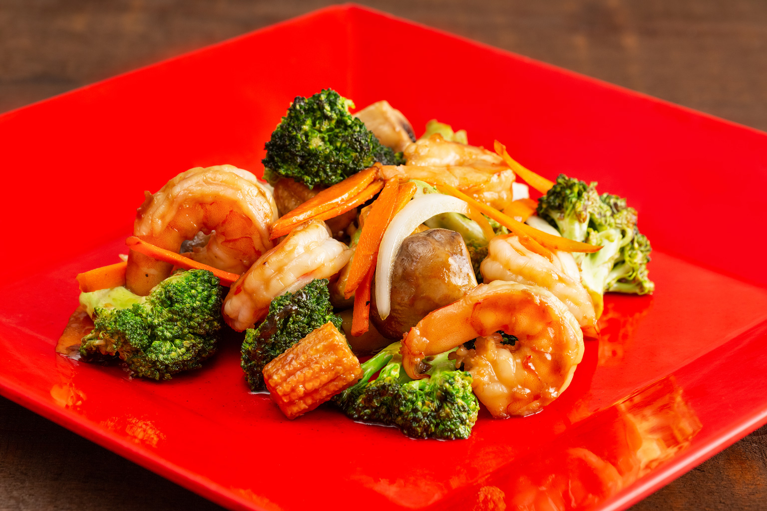 Shrimp w. Broccoli Image
