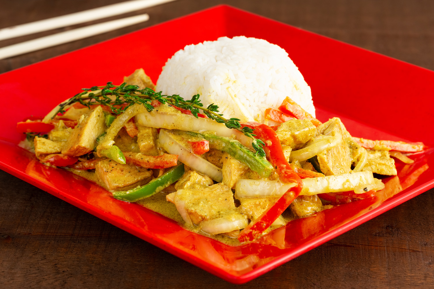 Coconut Curry Chicken Image