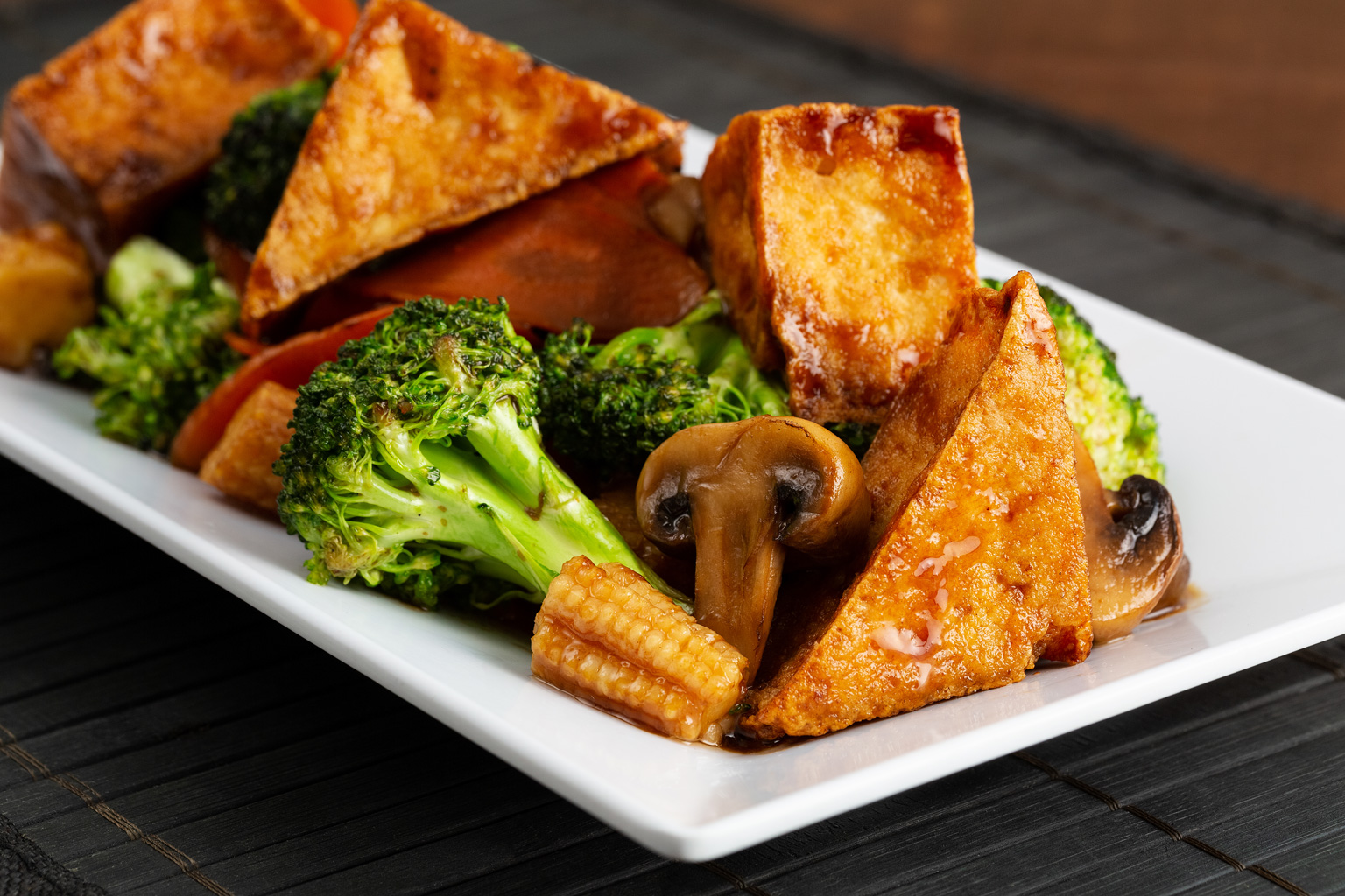 Tofu w/ Mixed Vegetable Image