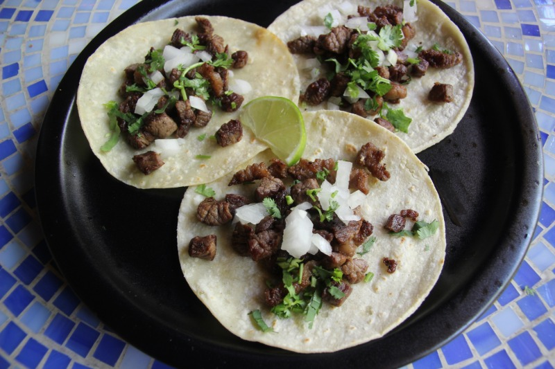 Taco Truck Style Mexican Tacos